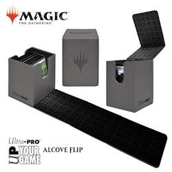Ultra Pro Alcove Flip Box: Magic The Gathering- Planeswalker (Grey)