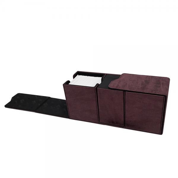 Ultra Pro: Alcove Vault Deck Box- Suede Red