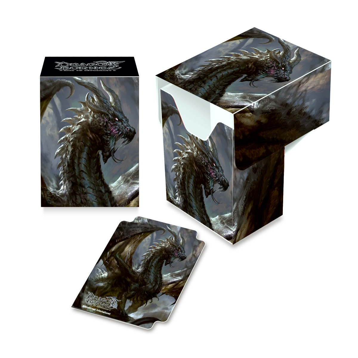 Ultra Pro: Art Deck Box: Dragoborne Full View Deck Box V2