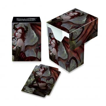Ultra Pro: Art Deck Box: Dragoborne Full View Deck Box V3