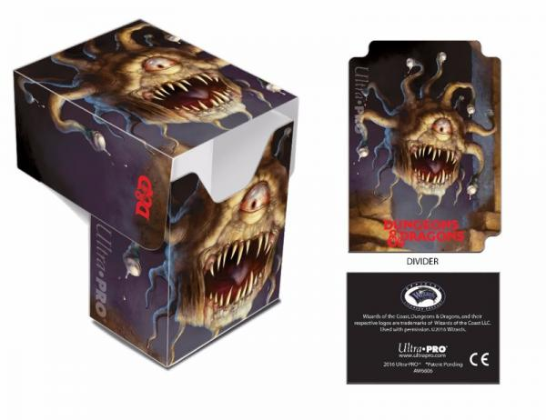 Ultra Pro: Art Deck Box: Dungeons and Dragons- Beholder