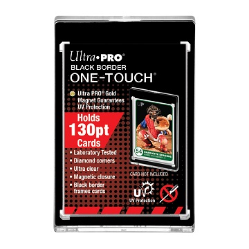 Ultra Pro: Black Border One-Touch Display Magnetic Closure
