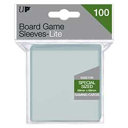 Ultra Pro: Board Game Sleeves Lite - 69 x 69mm Damaged
