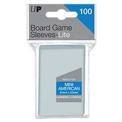 Ultra Pro: Board Game Sleeves Lite - Mini American