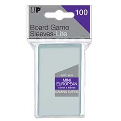 Ultra Pro: Board Game Sleeves Lite - Mini European