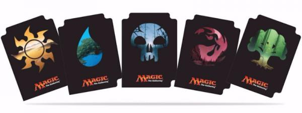 Ultra Pro: Card Dividers: Magic: The Gathering Mana 5 Divider Pack