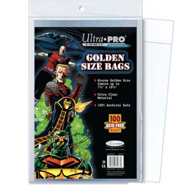 Ultra Pro: Comic Series- Golden Size Bags