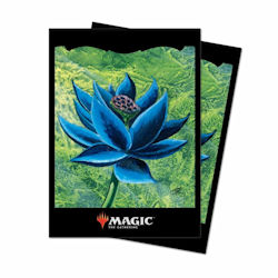 Ultra Pro Deck Protector Sleeves (100): Magic The Gathering- Black Lotus