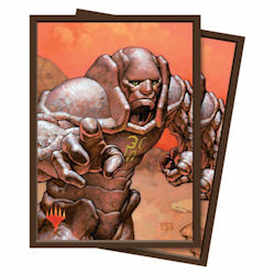 Ultra Pro: Deck Protector Sleeves (100): Magic: The Gathering: Karn, Silver Golem