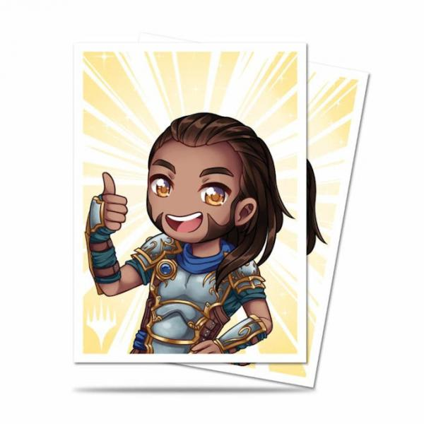Ultra Pro Deck Protector Sleeves (100): Magic the Gathering: Chibi Collection: Gideon - Good Job!