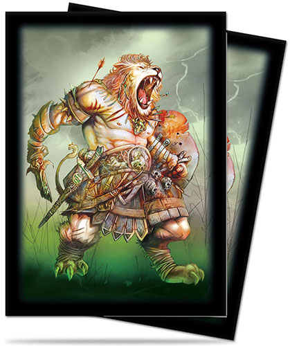 Ultra Pro: Deck Protector Sleeves (50): Darkside of Oz -Lion
