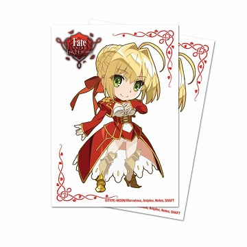 Ultra Pro Deck Protector Sleeves (60): FATE EXTRA CHIBI NERO (Small)