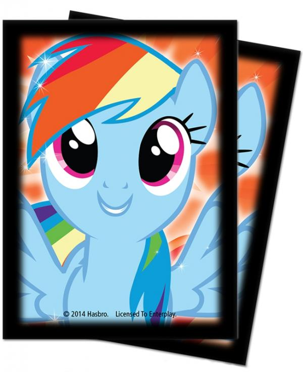 Ultra Pro: Deck Protector Sleeves (65): My Little Pony Rainbow Dash 2