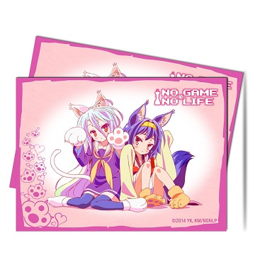 Ultra Pro Deck Protector Sleeves (65): NO GAME NO LIFE NAYAA!