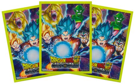 Ultra Pro Deck Protector Sleeves: Dragonball Super - Sneak Peek Super Goku (60ct)