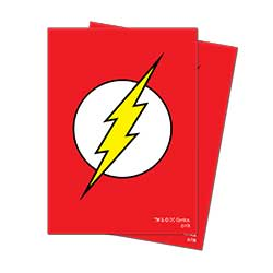 Ultra Pro Deck Protectors: Justice League - The Flash Deck Protectors (65ct)