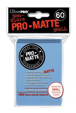 Ultra Pro: Non-Glare Pro-Matte Small Sleeves (60): Light Blue