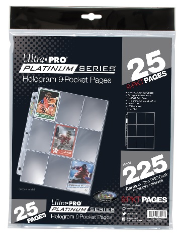 Ultra Pro: Platinum Series 9-Pocket Pages (25ct)