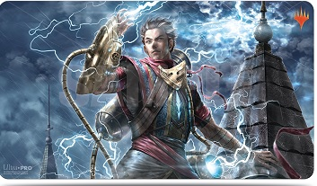 Ultra Pro Playmat: Magic the Gathering- War of the Spark Japanese Art - Ral Zarek