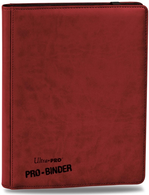 Ultra-Pro: Premium Pro-Binder: Red
