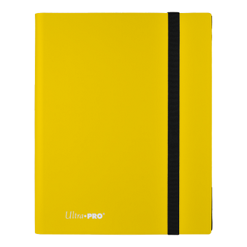 Ultra Pro: Pro-Binder 9 Pocket: Lemon Yellow