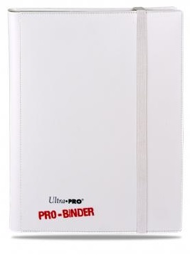 Ultra Pro: Pro-Binder - Side Loading 9 Pocket White on White