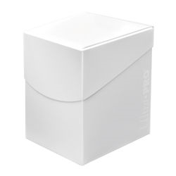 Ultra Pro: Pro Deck Box: ECLIPSE ARCTIC WHITE