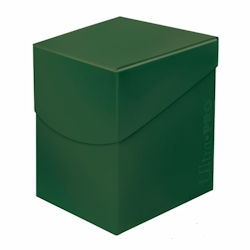 Ultra Pro: Pro Deck Box: ECLIPSE FOREST GREEN