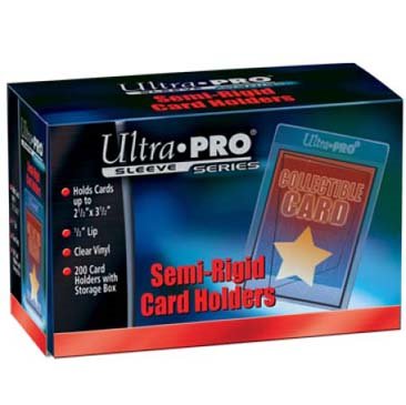 Ultra Pro: Semi-Rigid Card Sleeves