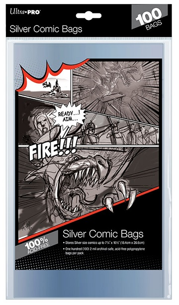 Ultra Pro: Silver Comic Bags