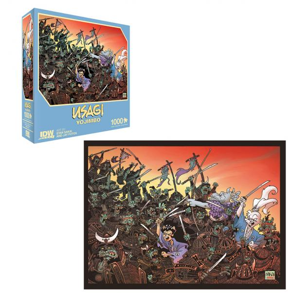 Usagi Yojimbo 1000 PC Puzzle