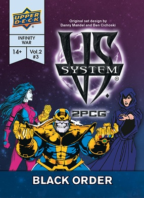 VS System: 2PCG BLACK ORDER