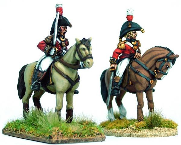 Victrix 28mm: Metal: British Peninsular Colonels & Foot Pioneer