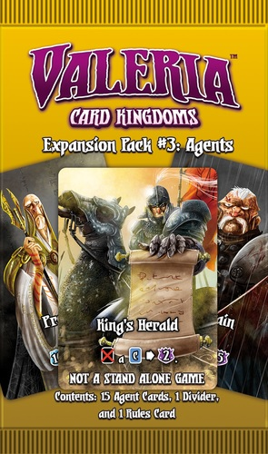 Valeria Card Kingdoms: Expansion Pack #3- Agents