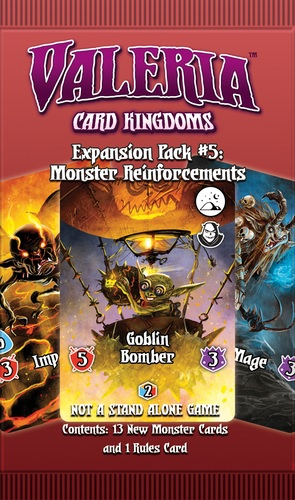 Valeria Card Kingdoms: Expansion Pack #5- Monster Reinforcements