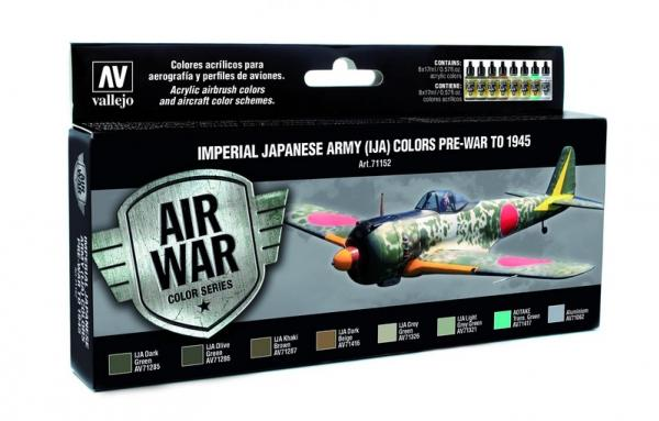 Vallejo: Air War Color Series: Imperial Japanese Army (IJA) Colors Pre-War to 1945