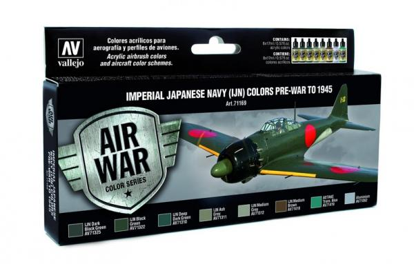 Vallejo: Air War Color Series: Imperial Japanese Navy (IJN) Colors Pre-War to 1945