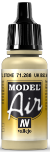 Vallejo Model Air Colors 288: UK BSC 64 Porti Stone