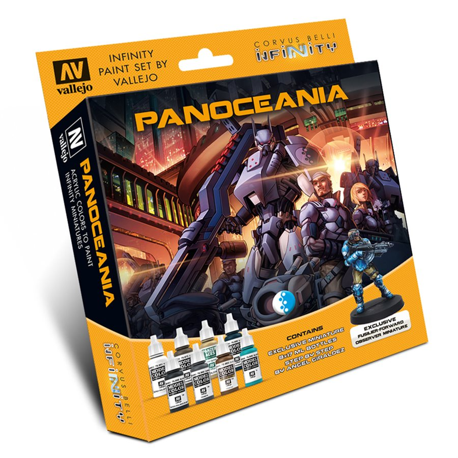 Vallejo: Model Color Set - Infinity Panoceania Exclusive Miniature