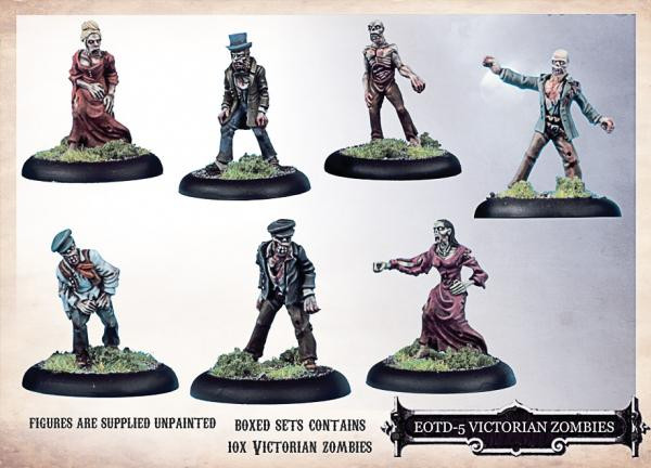 Empire of the Dead: Victorian Zombies Box Set