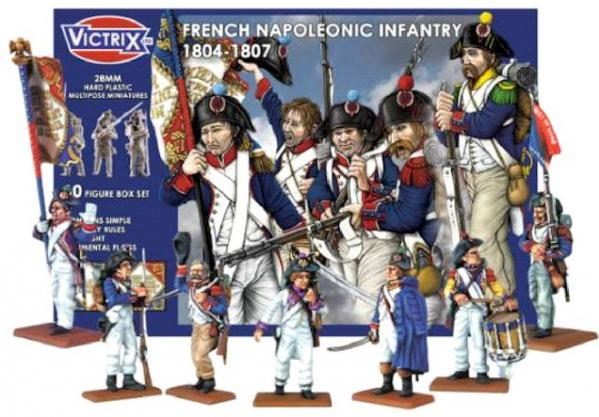 Victrix 28mm: French Napoleonic Infantry 1804–1807