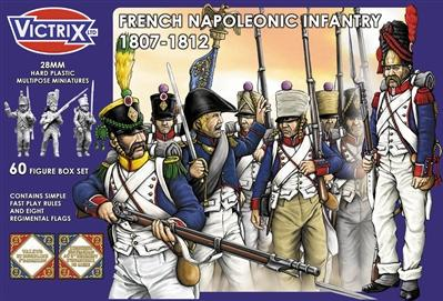 Victrix 28mm: French Napoleonic Infantry 1807-1812