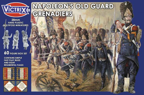 Victrix 28mm: Napoleons Old Guard Grenadiers