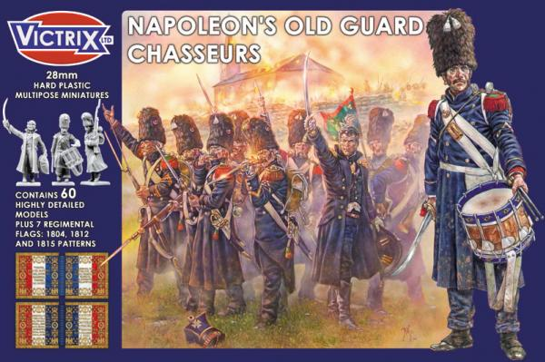 Victrix 28mm: Napoleons Old Guard Chasseurs
