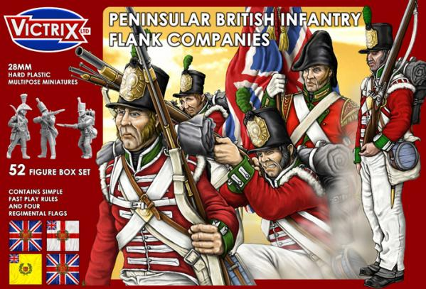 Victrix 28mm: Peninsular British Infantry Flank Companies