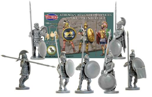Victrix 28mm Warriors of Antiquity: Athenian Armoured Hoplites
