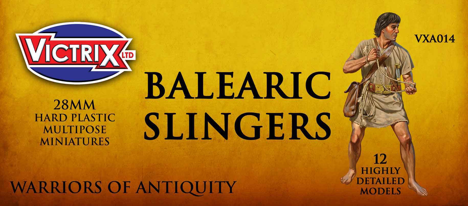Victrix 28mm Warriors of Antiquity: BALEARIC SLINGERS