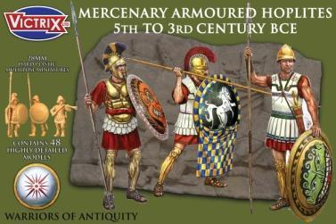 Victrix 28mm Warriors of Antiquity: Mercenary Armoured Hoplites