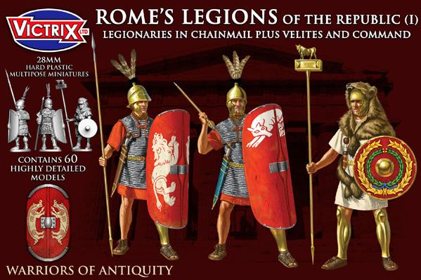 Victrix 28mm Warriors of Antiquity: Romes Legions of the Republic (I)