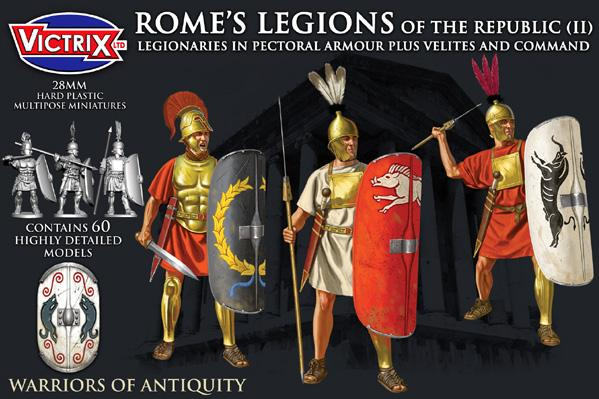 Victrix 28mm Warriors of Antiquity: Romes Legions of the Republic (II)